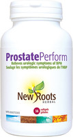 New Roots Prostate Perform, 14 softgels | NutriFarm.ca