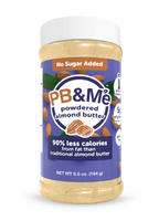 PB&Me Powdered Almond Butter Original, 184 g | NutriFarm.ca