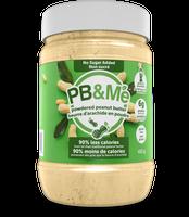 PB&Me Powdered Peanut Butter no sugar, 453 g | NutriFarm.ca