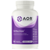 AOR Ortho Iron, 60 Vegetable Capsules | NutriFarm.ca