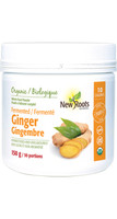 New Roots Fermented Ginger, 150 g | NutriFarm.ca