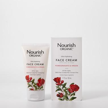 Nourish Organic Ultra Hydrating Face Cream, 50 ml | NutriFarm.ca