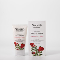 Nourish Organic Ultra Hydrating Face Cream, 50 ml | NutriFarm.ca