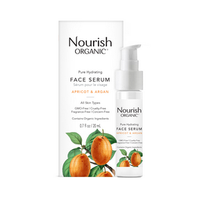 Nourish Organic Hydrating Face Serum, 20 ml | NutriFarm.ca