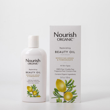 Nourish Organic Replenishing Beauty Oil, 100 ml  | NutriFarm.ca