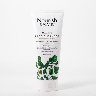 Nourish Organic Facial Cleanser, 117 ml  | NutriFarm.ca