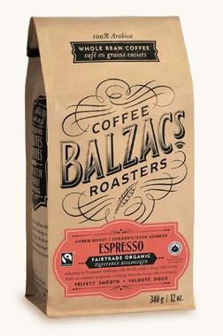 Balzac's Coffee Roasters Espresso Blend - Amber Roast, 340 g | NutriFarm.ca