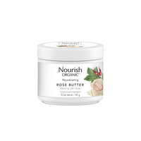 Nourish Organic Rejuvenating Rose Butter, 147 g | NutriFarm.ca
