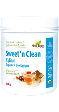 New Roots Sweet 'n Clean Xylitol, 454 g | NutriFarm.ca