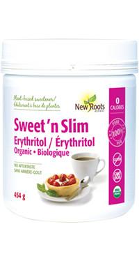 New Roots Sweet 'n Slim Erythritol, 454 g | NutriFarm.ca