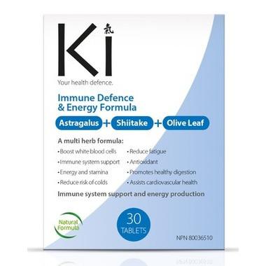 Ki Immune Defense & Energy Formula, 30 tablets | NutriFarm.ca