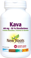 New Roots Kava 400 mg, 30 capsules | NutriFarm.ca