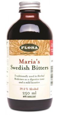 Flora Swedish Bitters (Alcohol), 250 ml | NutriFarm.ca