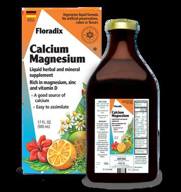 Flora Calcium Magnesium, 500 ml | NutriFarm.ca