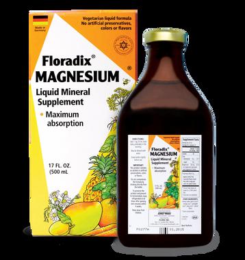 Flora Magnesium Liquid, 500 ml | NutriFarm.ca
