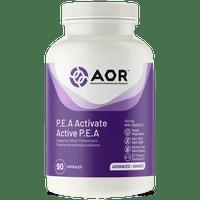 AOR P.E.A. Activate 400 mg, 90 Capsules | NutriFarm.ca