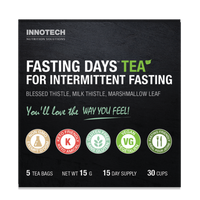 Innotech Fasting Days Tea - Herbal Tea (2 Week supply) | NutriFarm.ca