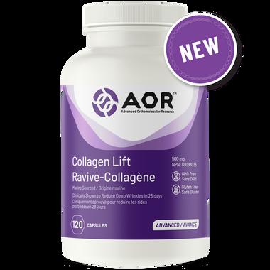 AOR Collagen Lift, 120 Capsules   NutriFarm.ca
