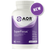 AOR SuperFocus, 60 capsules   NutriFarm.ca