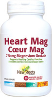 New Roots Heart Mag, 60 Vcaps | NutriFarm.ca