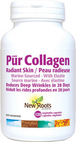 New Roots Pur Collagen Radiant Skin, 120 Vcaps | NutriFarm.ca