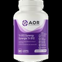AOR Tri B12 Synergy, 60 Capsules | NutriFarm.ca