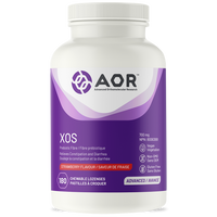 AOR XOS, Strawberry flavoured, 180 lozenges | NutriFarm.ca