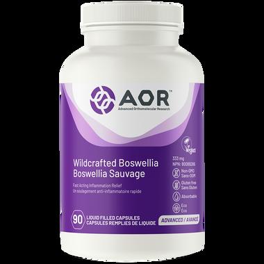 Aor Wildcrafted Boswellia, 90 Capsules   NutriFarm.ca