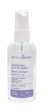Bleu Lavande Hand Sanitizer, 60 ml | NutriFarm.ca