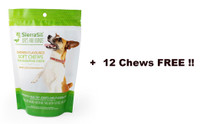 SierraSil Soft Chews For Dogs Chicken Flavour, 100 + 12 Free bite sized chews | NutriFarm.ca
