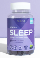 SUKU Restful Sleep, 60 gummies | NutriFarm.ca