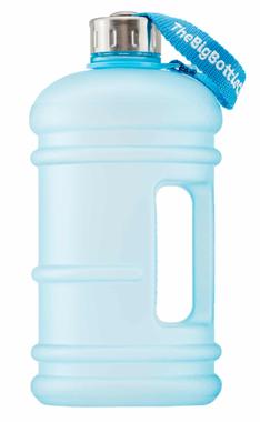 The Big Bottle Frosted Aqua, 1.5 L   NutriFarm.ca