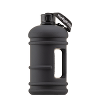The Big Bottle Jet Black, 1.5 L | NutriFarm.ca