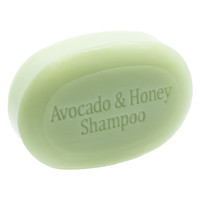 The Soap Works Avocado & Honey Shampoo Bar, 1 unit | NutriFarm.ca