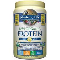 Garden of Life Raw Organic Protein Vanilla, 624 g | NutriFarm.ca