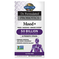 Garden of Life Mood Plus 50 billion, 60 Caps | NutriFarm.ca