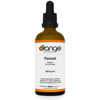 Orange Naturals Fennel Tincture, 100 ml | NutriFarm.ca