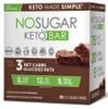 No Sugar Company Keto Chocolate Fudge Brownie 40 g, 12 bars   NutriFarm.ca