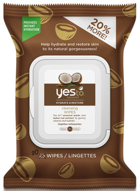 Yes To Coconut Wipes, 30 Wipes | NutriFarm.ca