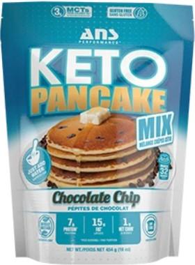 ANS Performance Pancake Mix Chocolate Chip, 454 g | NutriFarm.ca