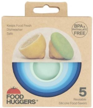 Food Huggers Ice Blue(set of 5) | NutriFarm.ca