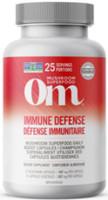 OM Mushroom Immune Defense, 75 Caps | NutriFarm.ca