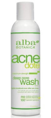 Alba Botanica Acnedote Deep Pore Wash , 177 ml | NutriFarm.ca