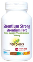 New Roots Strontium Strong, 120 vegetable capsules | NutriFarm.ca