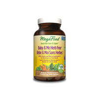 MegaFood Baby & Me Herb Free, 120 tablets | NutriFarm.ca