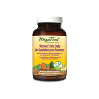 MegaFood Women's One Daily, 72 tablets | NutriFarm.ca
