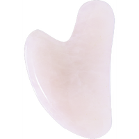 Gua Sha Rose Quartz, 1 unit | NutriFarm.ca