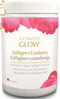 Vitality Glow Collagen + Cranberry, 200 g | NutriFarm.ca