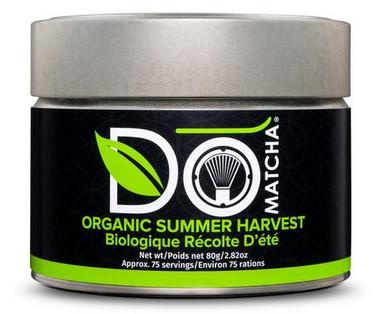 DoMATCHA Summer Harvest Tin Organic, 80 g | NutriFarm.ca