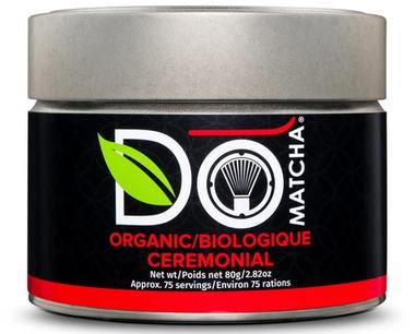 DoMATCHA Ceremonial Tin Organic, 80 g | NutriFarm.ca